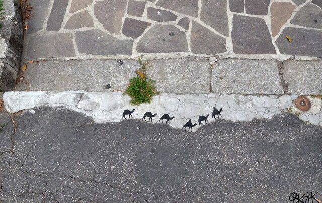 Urban art, arte callejero, street art...