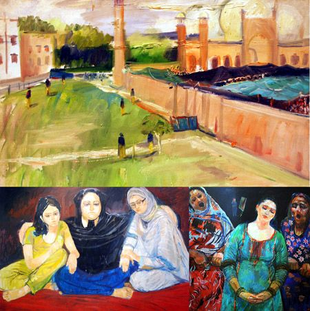 Pakistan Art Gallery  Staff Report Lahore An Art Exhibition Was