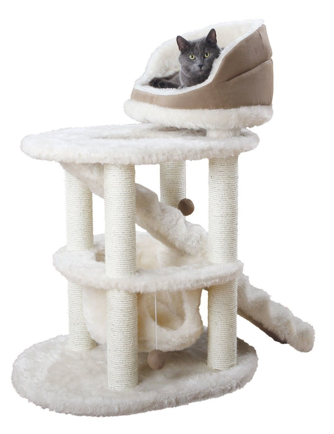 Trixie Elsa Senior Cat Scratching Post (Colour Milk EAN