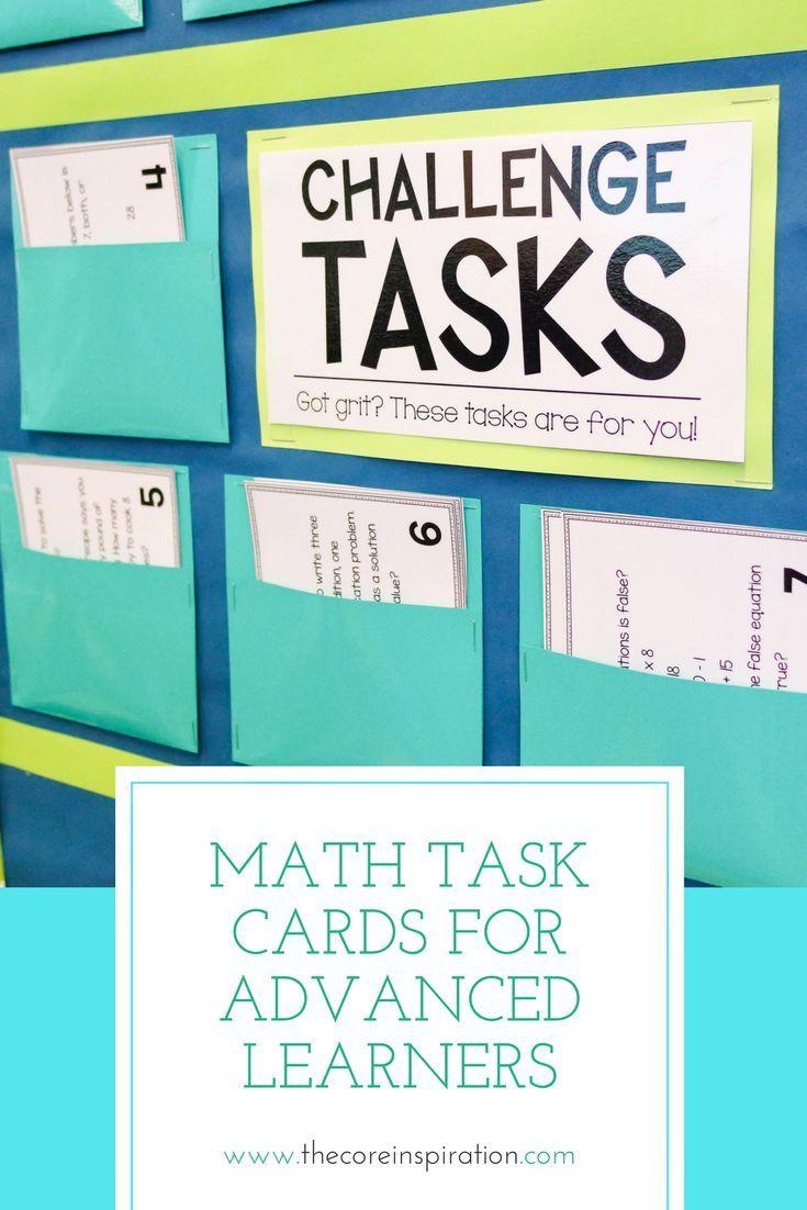Third Grade Math Problem Solving Task Cards Year Long BUNDLE | Math ...