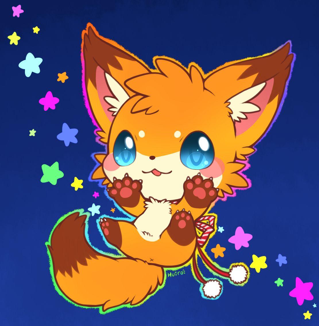 Jazz Paws By Huiro Cute Animal Drawings Kawaii Cute Fox Drawing Cute Animal Drawings