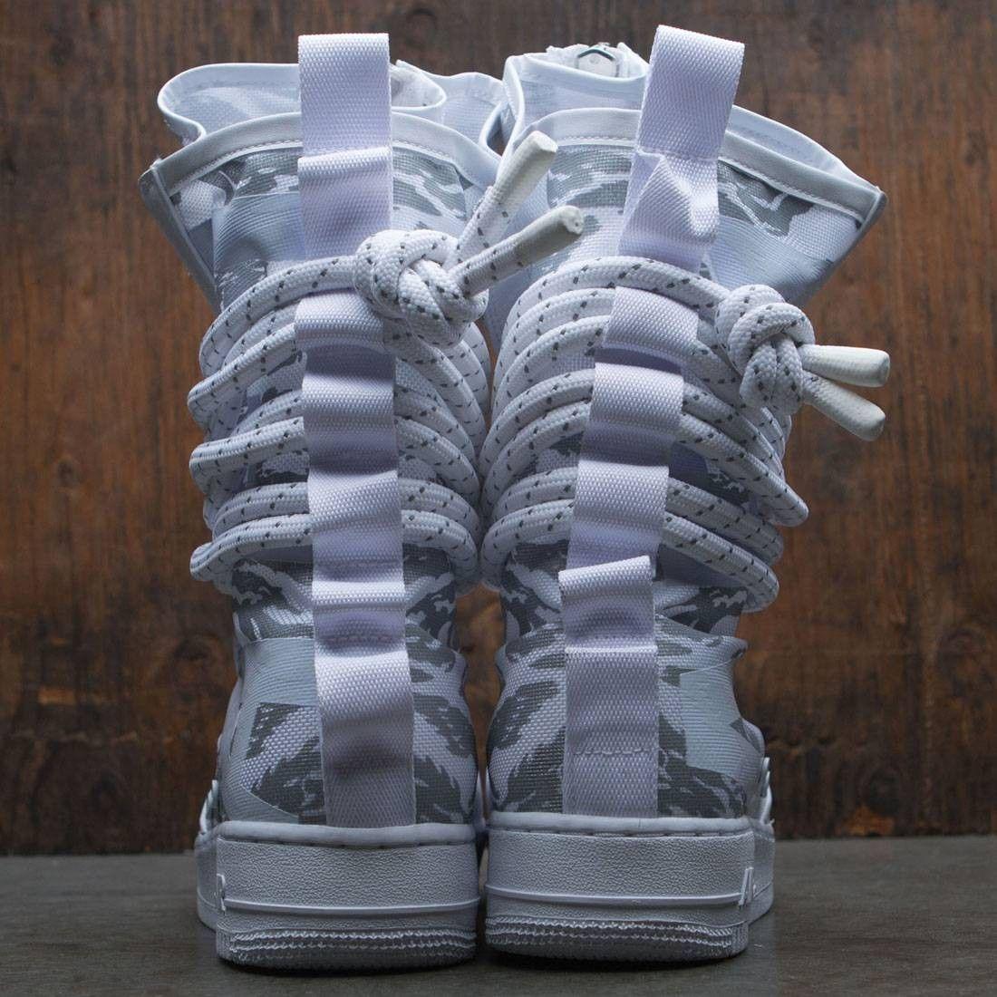 44213e4171f Nike Men Sf Air Force 1 Hi Premium Boot (white   white-white) in ...