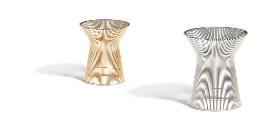 Platner Side Table In 1966 The Platner Collection Captured The Decorative Gentle Graceful Shapes That Were Beginning To Infiltrate The Modern Vocabulary