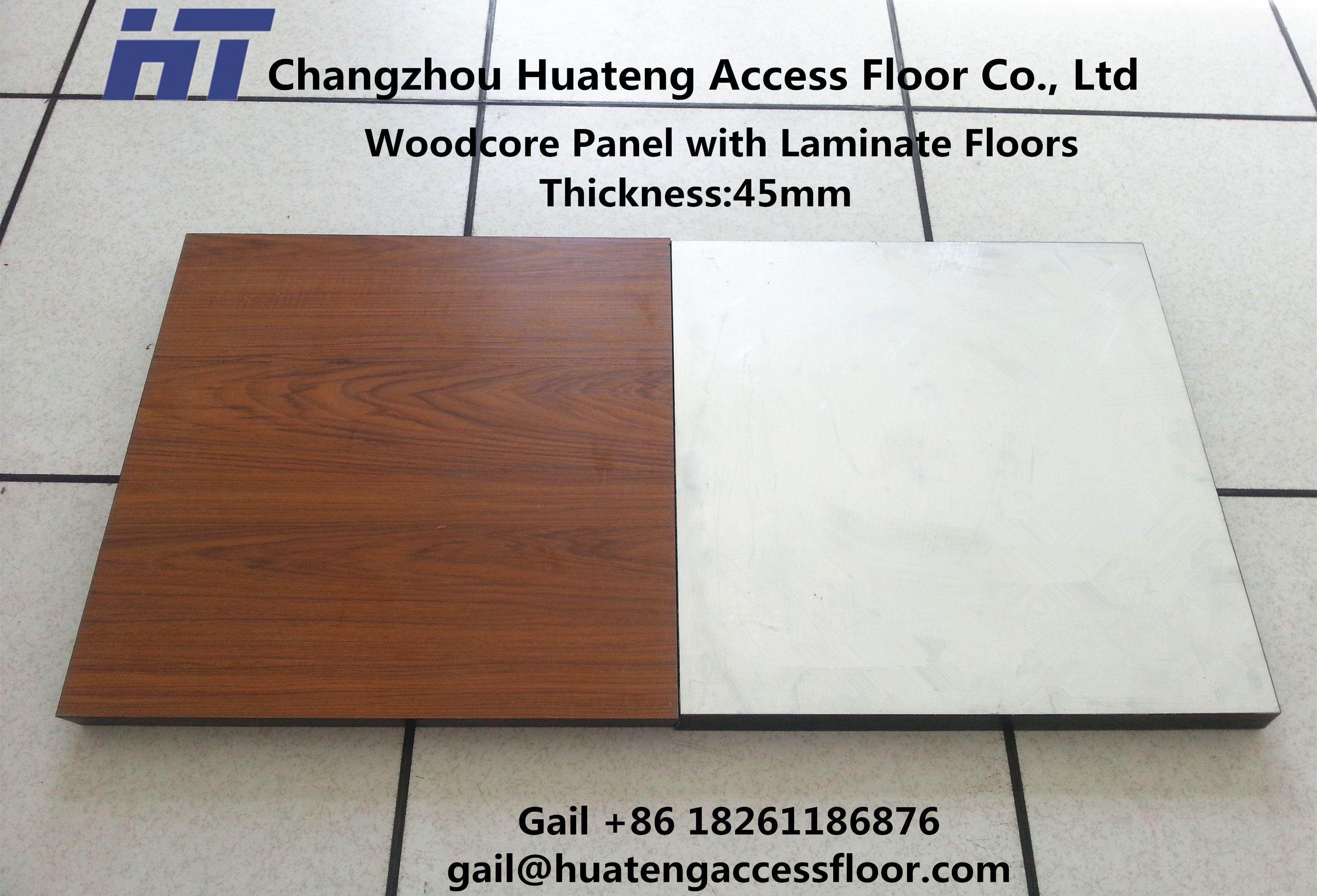 Woodcore Panel With Laminate Floors, Laminate Panel Flooring