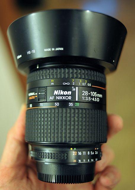 Nikkor 28 105 D F 3 5 4 5 Vintage Camera Lens Camera Lens Accessories Camera Lens