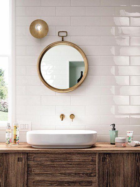 Cuartos de baño sencillos y funcionales   Azulejos cuarto ...