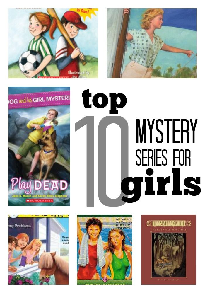 10 Best Mystery Series For Girls Reading Resources For Older