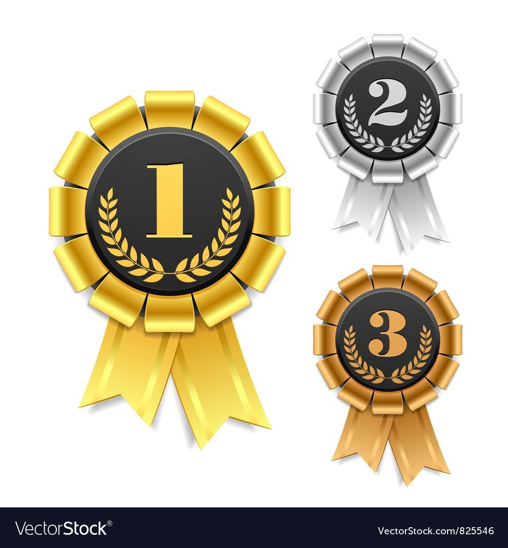 Award Ribbon Royalty Free Vector Image Vectorstock Aff Royalty Ribbon Award Free Ad Lencana Gambar Bingkai