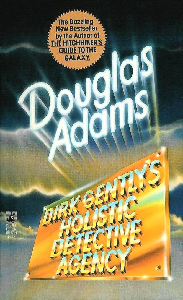 Dirk Gentlys Holistic Detective Agency Douglas Adams Books On