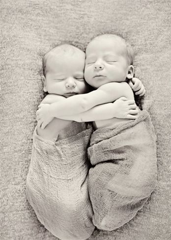Newborn Twins Pose I Love When They Have Their Arms Around Each