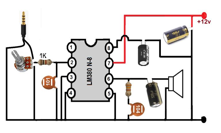 Low Power Audio Amplifier Circuits