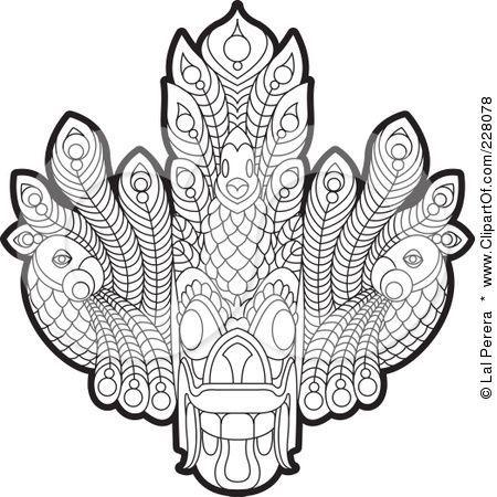 3ff2026ff811a Image result for sri lankan devil mask | Art | Mask tattoo, Mask ...