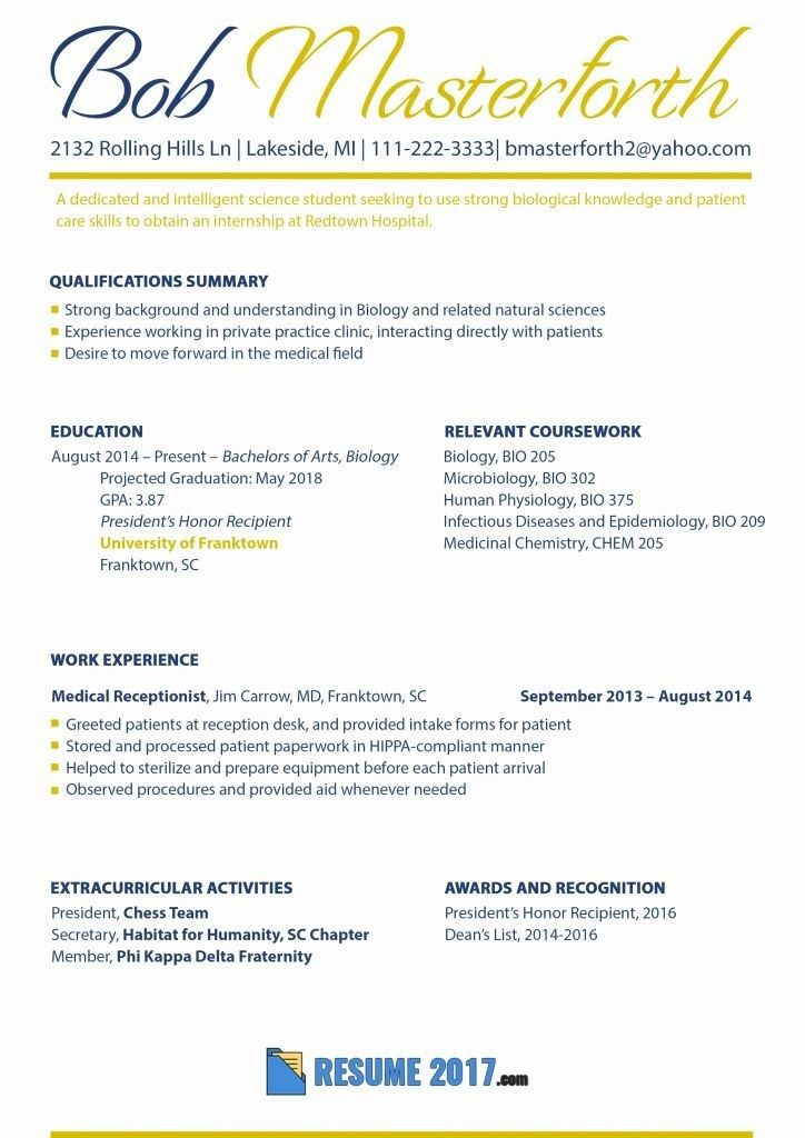 77 awesome stock of secretary resume examples 2016