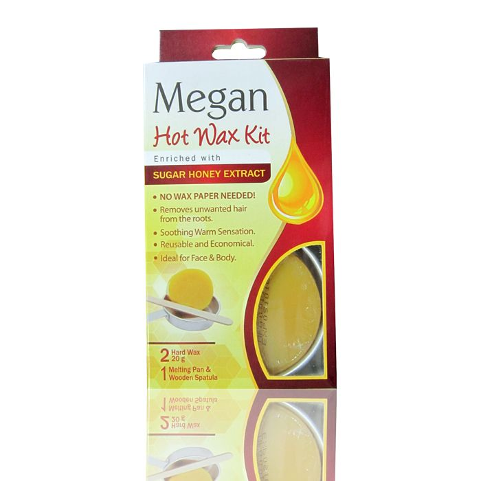 Megan Hair Removal Wax Kit Honey Syrup Waxing Kit Wax Hair