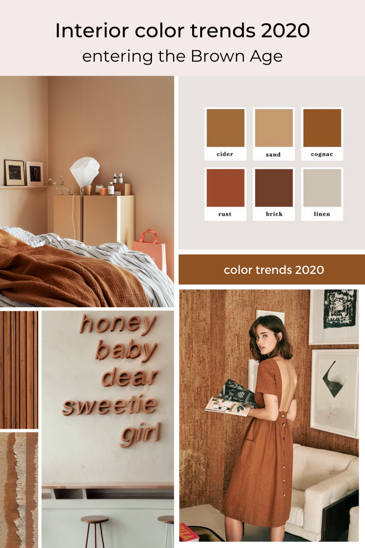 Brown Interior Color Trend For 2020 In