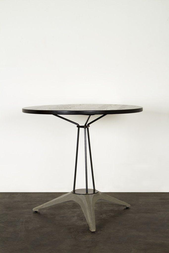 Kahn Bistro Table | Industrial Furniture | Industrial Design | Brutalism |  Concrete