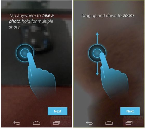 Moto X may have the simplest smartphone camera interface