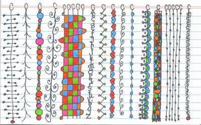 Photo of doodles for letter filling Doodle borders Doodle-borders Mandalas Zen doodle Man…