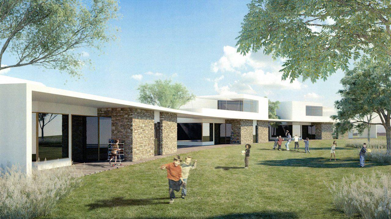 Elsbethen So Werden Kindergarten Und Wohnungen Am Red Bull Areal Aussehen Architektur Wohnung Reden
