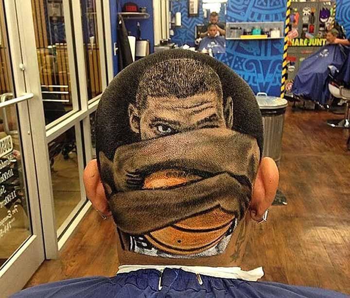 I tagli di capelli più strani del mondo: NBA   Tagli di ...