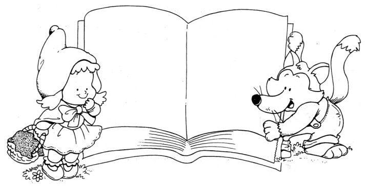 Cuento Caperucita Lobo Caperucita Roja Dibujo Cuentos Dibujos