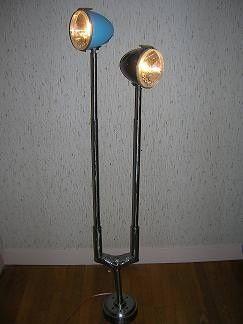 Citroen 2cv Lights Into Desk Lamp