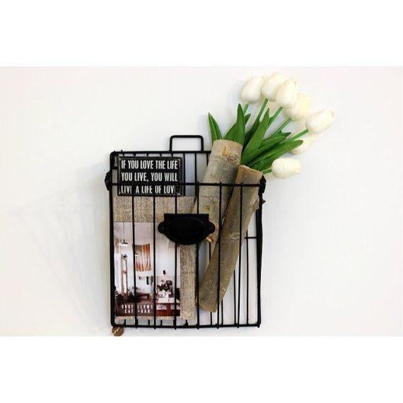 Wall File Basket