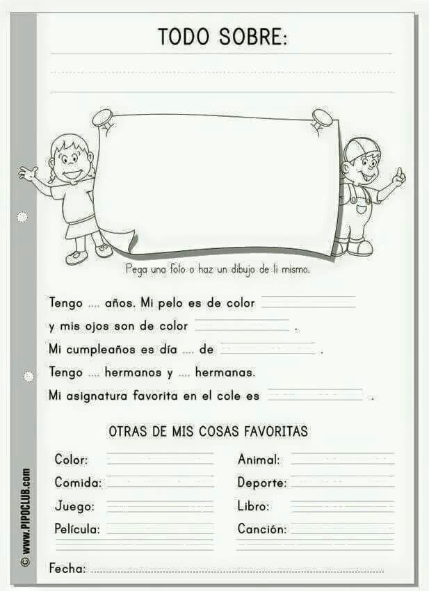 Datos Personales Enseñanza De Inglés Libros De Clase Software Educativo