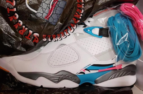 Emporium of Tings. Web Magazine. - https   drwong.live. Air Jordan 8 South  Beach ... a0811688d