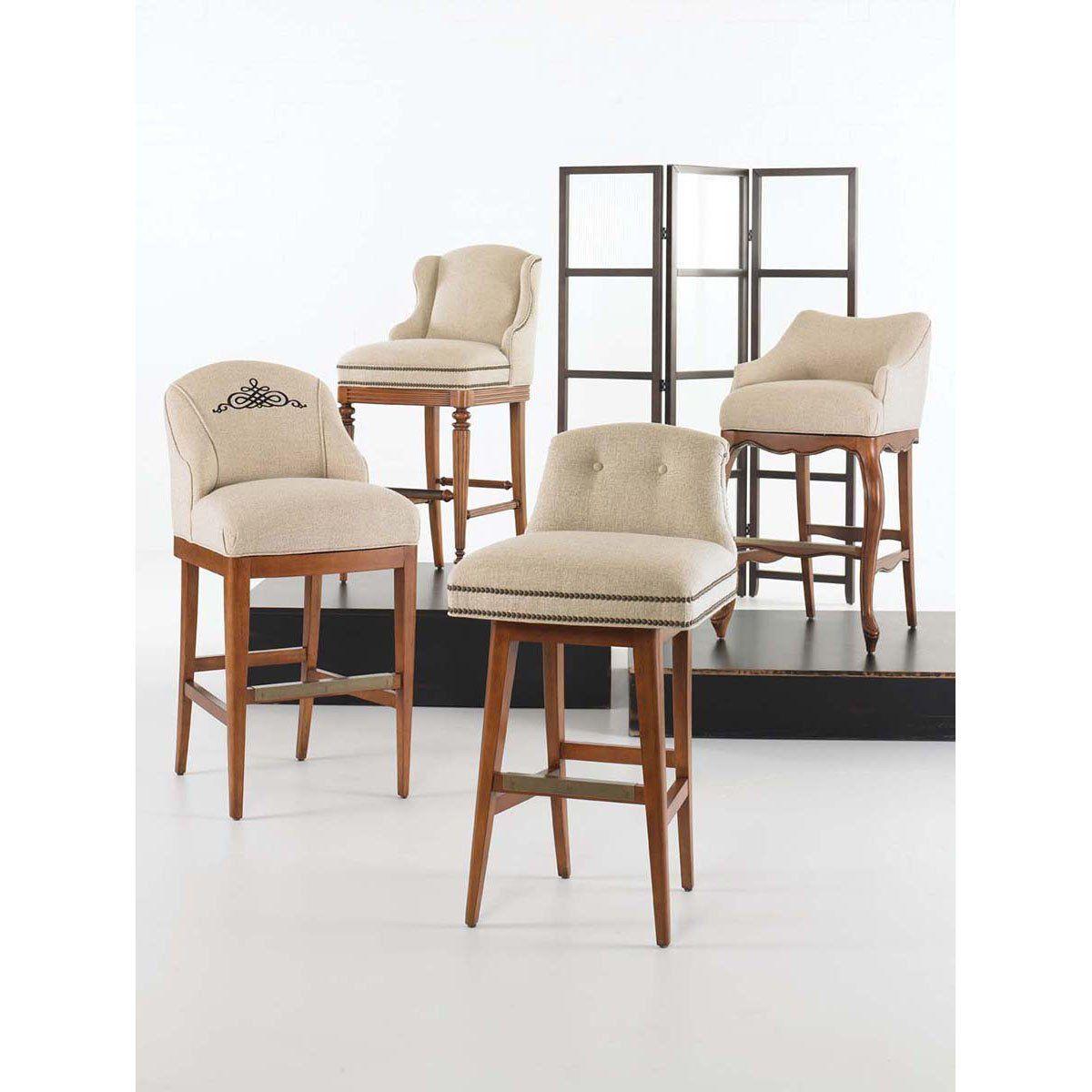 Vanguard Furniture Wing Fabric Bar Stool Furniture Bar Stools Furniture Upholstery