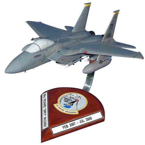 2 FS F-15C Eagle Custom Aircraft Model