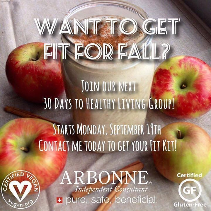 Our Sept 19th Healthy Living group is live! Who's ready to ...