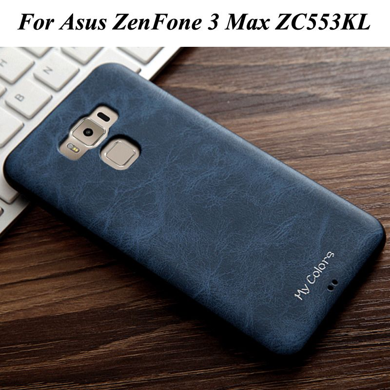 new product a7095 6d20b 360° Protection Leather + Soft Tpu Case Cover For Asus Zenfone 3 Max ...