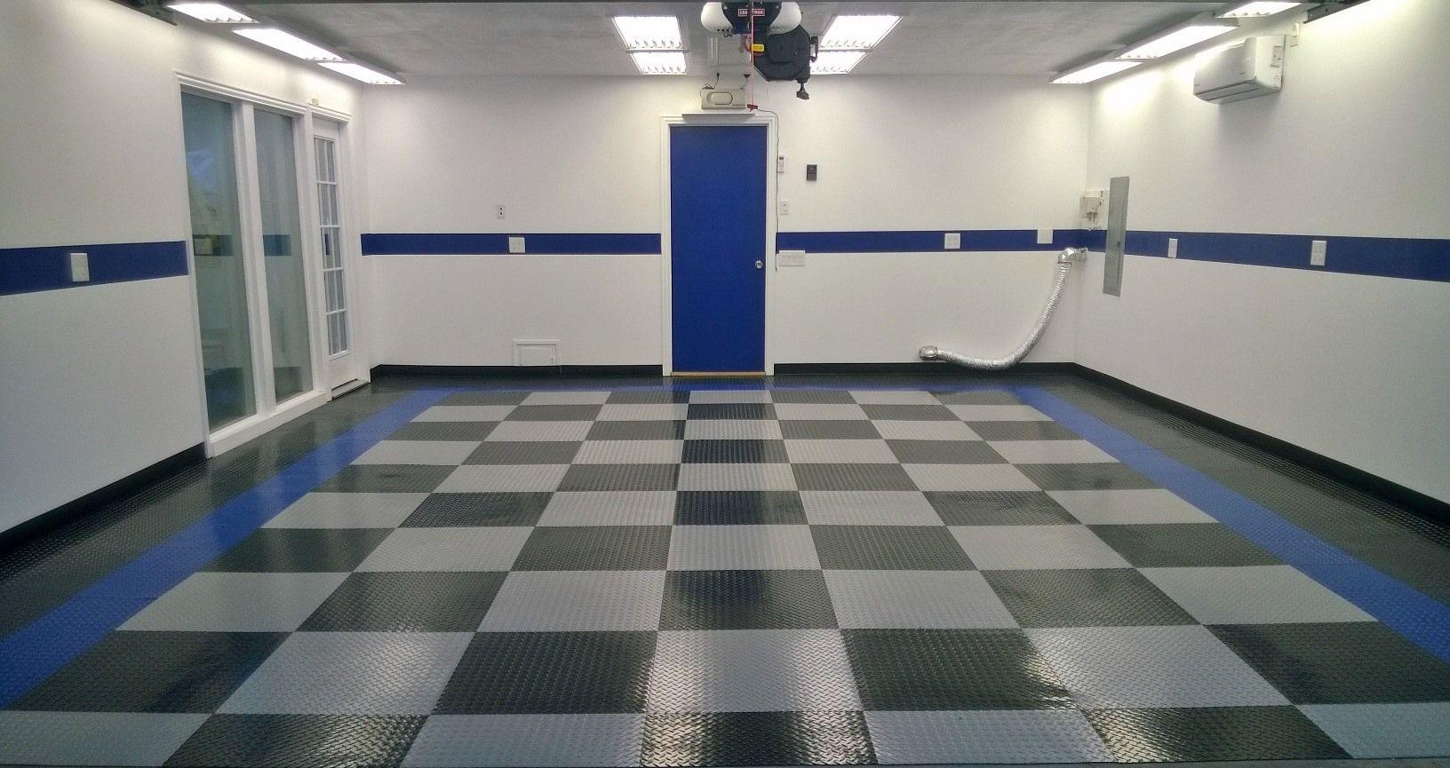 Loving this color themed garage garageflooring garage floor loving this color themed garage garageflooring garage floor tilesgarage dailygadgetfo Images