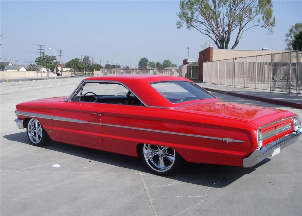 1964 Ford Galaxie 500 Xl Custom Fastback Nice Stance Ford
