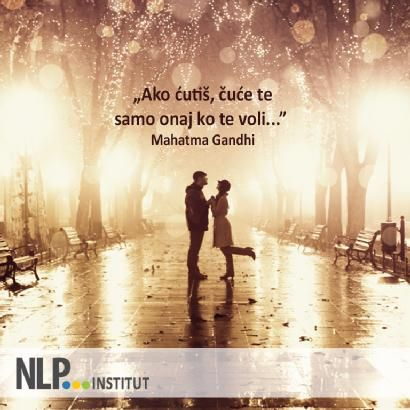 Citaten Angst Voli : Ako ćutiš čuće te samo onaj ko te voli u201d mahatma gandhi