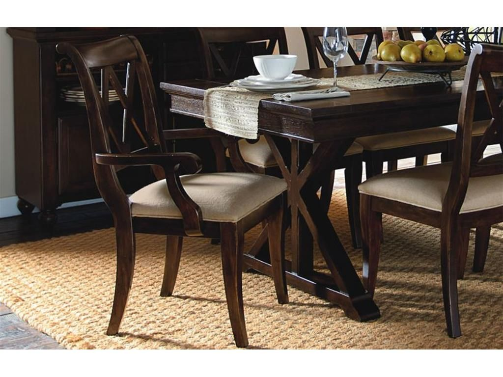 Legacy Furniture Dining Room | Legacy Classic Furniture Dining Room X Back Arm Chair 3700-141 KD at ...