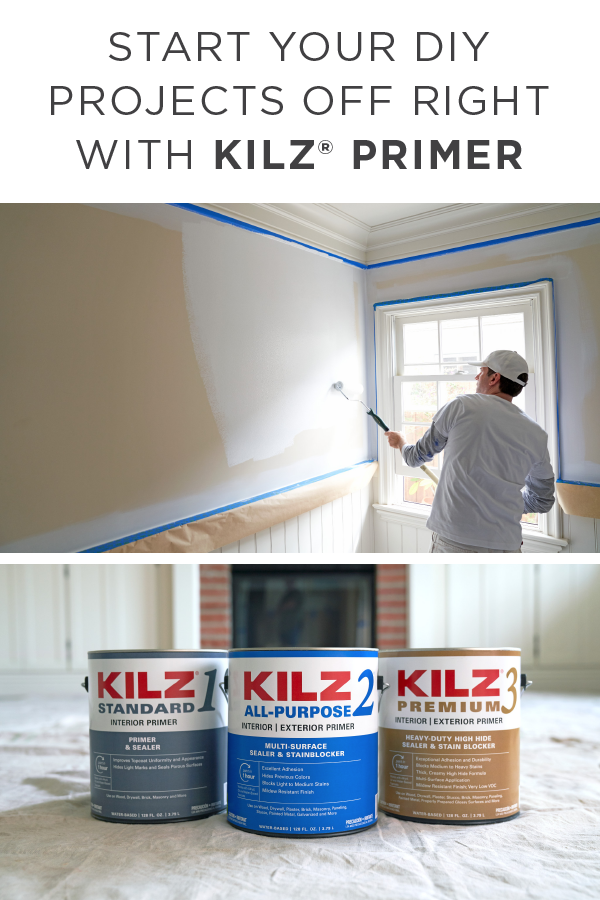 Picking Out New Paint Colors Is Fun But Have You Ever Chosen The Perfect Primer For The Job Your Next Home Improvement Proje Kilz Primer Kilz Exterior Primer