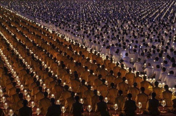 Красивые фотографии буддизма в Азии (15 снимков)