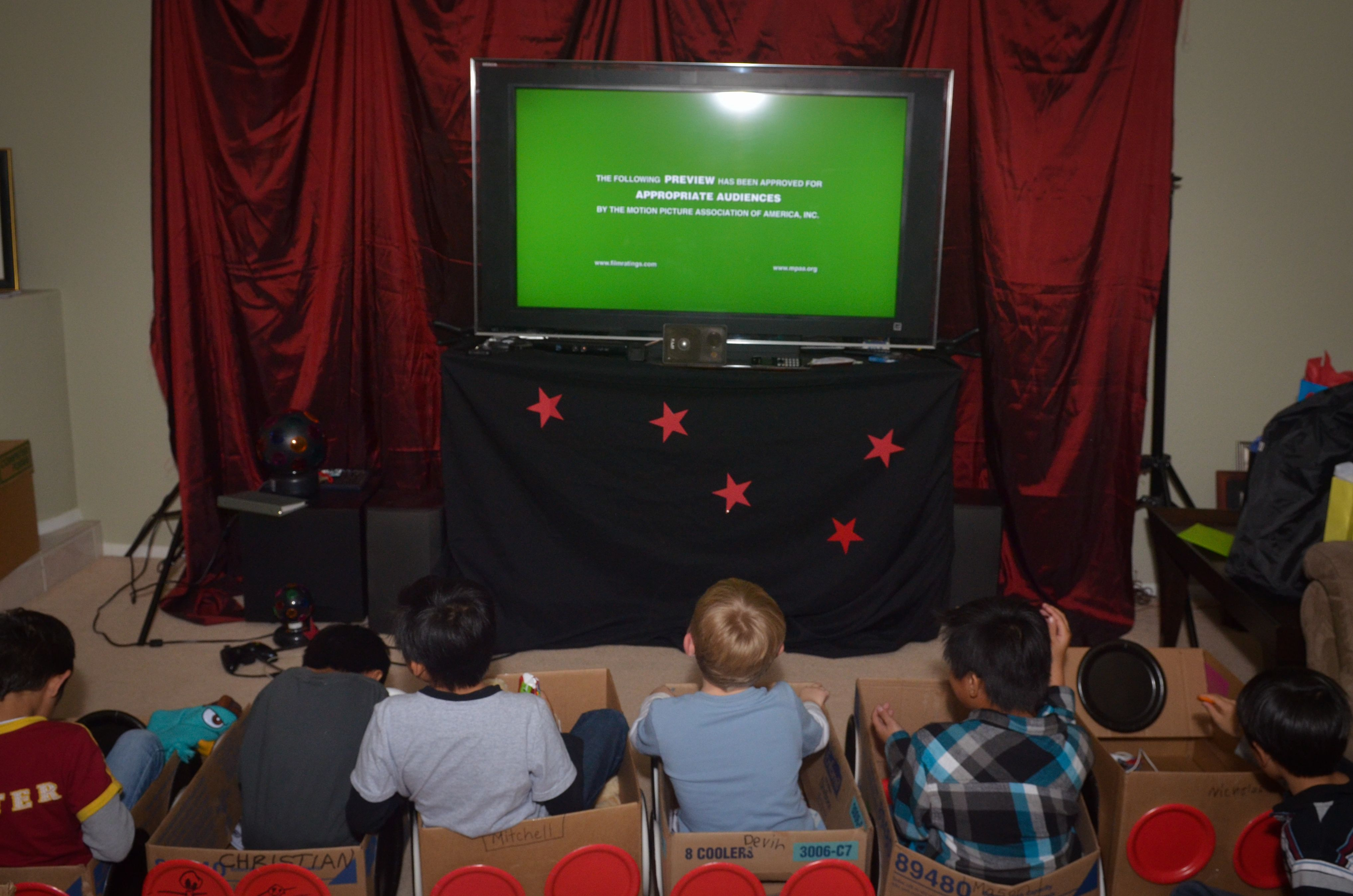 Drive In Movie Theater Birthday Party Movie Theatre Birthday Party Cinema Party Drive In Movie Theater