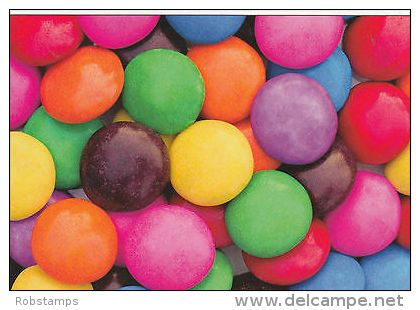(21470) Postcard - Coloured Sweets / Candies