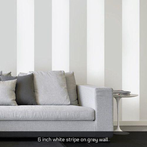 Easy Stripe wall decals Pareti a strisce, Dietro al