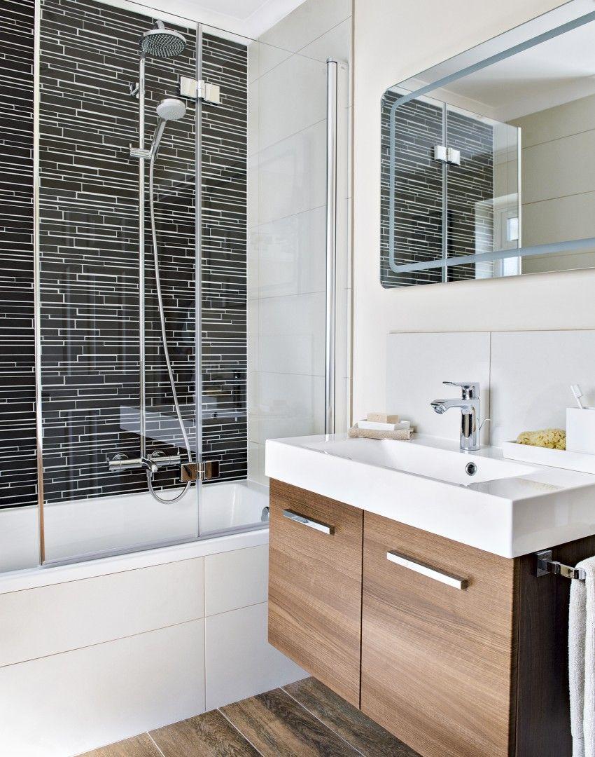 Modern Neutral Bathroom with Vanity Unit   Beautiful small ...