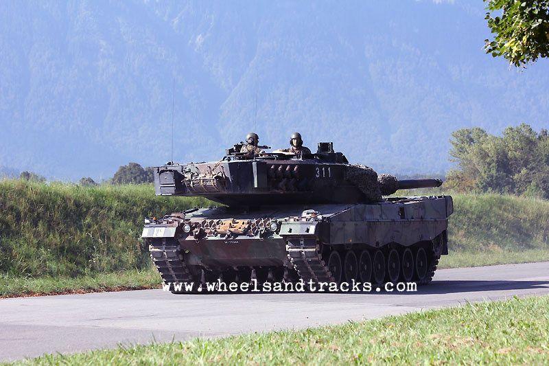Leopard 2A4 Pz 87 WE - Swiss Army.
