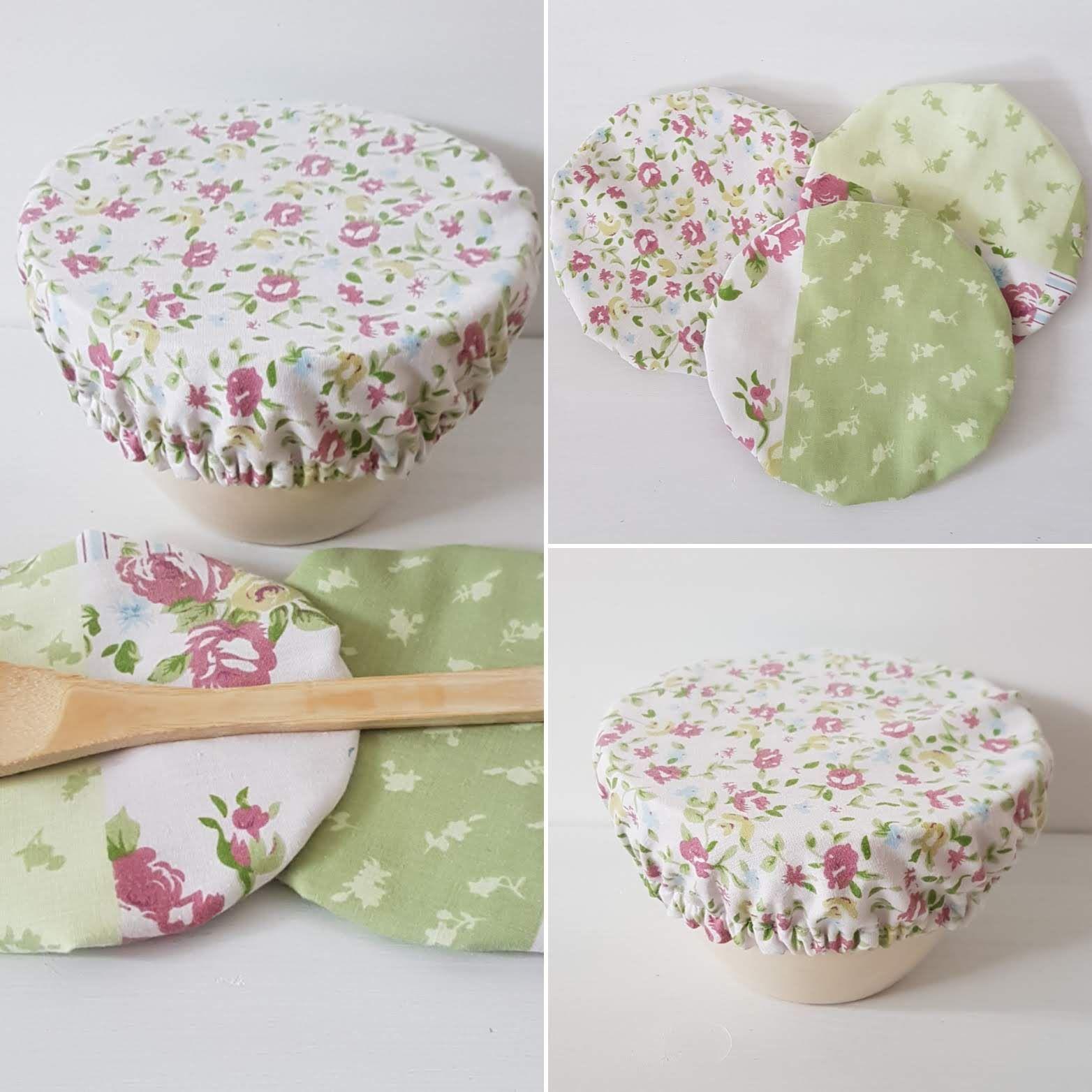Mothers Day Reusable Gift Wrap Zero Waste Plastic-Free cotton wrap Heart Print