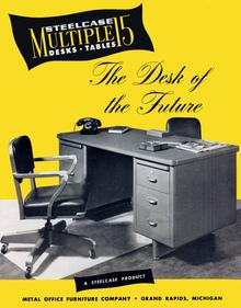 Steelcase Desk