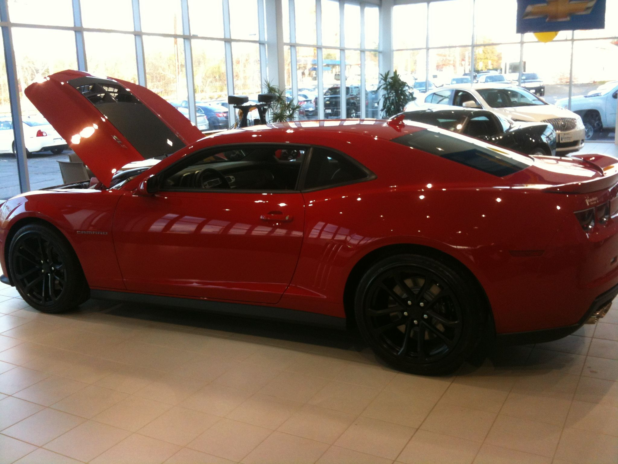 This beautiful Camaro ZL1 needs it s own board I was so happy to