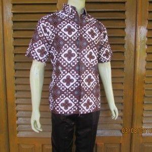 Batik pria Hem batik pria Batik pria pendek Batik lengan pendek Baju batik  Baju pria lengan bcf241b8af