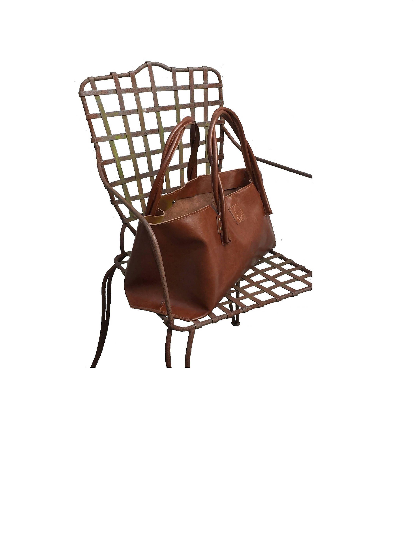 c4e3df215a9cb große Ledertasche Shopper Einkaufsshopper ausgefallene Tasche Vintage - Style  handmade von Goldtaschen auf Etsy