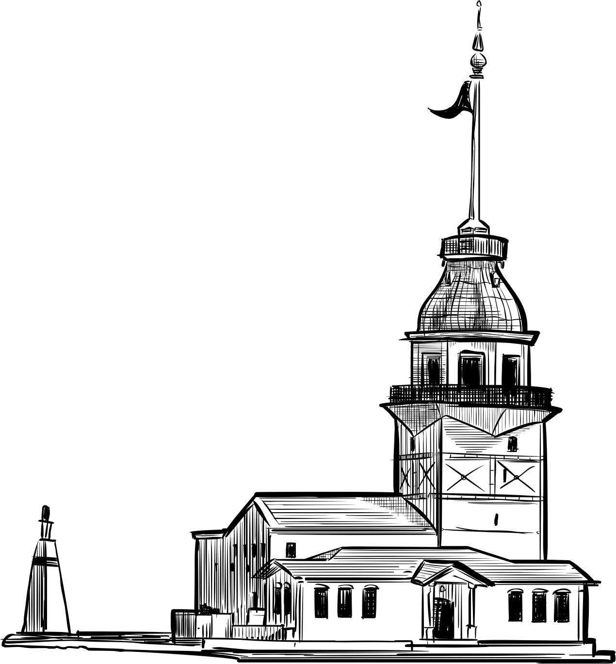 Kız Kulesi çizimi Ile Ilgili Görsel Sonucu Dudaklar Pinterest